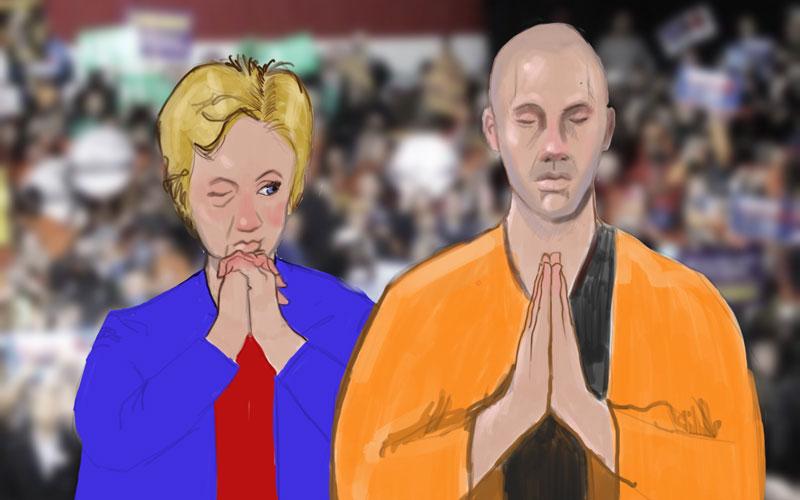 Clinton, Kaine and Caine
